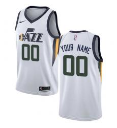 Men Women Youth Toddler Nike NBA Utah Jazz Customized Association Edition Swingman White Nike Jersey