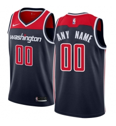 Men Women Youth Toddler Washington Wizards Nike Navy Swingman Custom Icon Edition Jersey