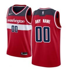 Men Women Youth Toddler Washington Wizards Nike Red Swingman Custom Icon Edition Jersey